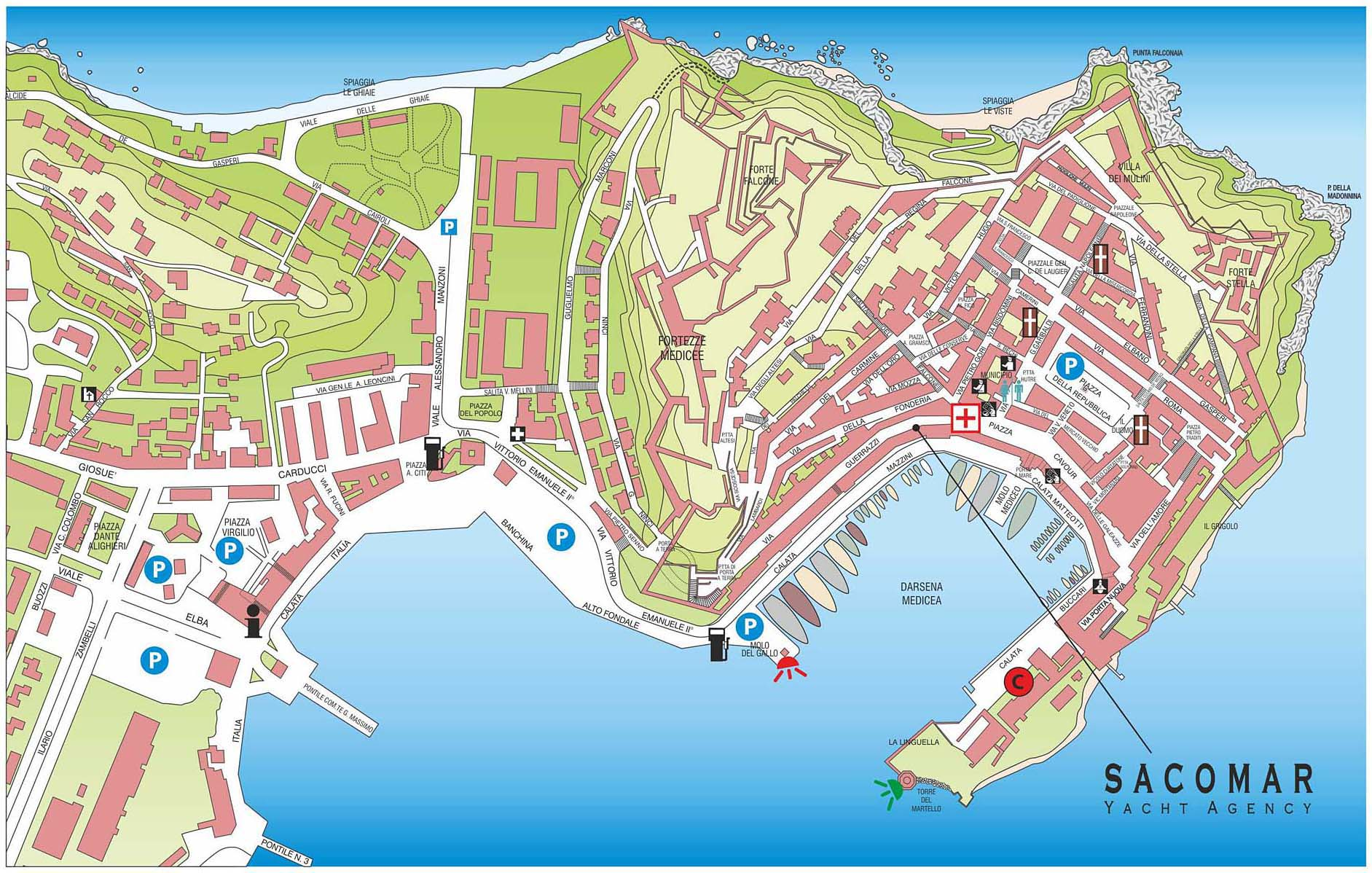 Yacht Agency in Elba Island - Portoferraio Harbour
